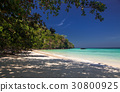 idillyic tropical hidden beach,Thailand 30800925