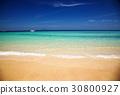 idillyic tropical hidden beach,Thailand 30800927