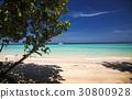 idillyic tropical hidden beach,Thailand 30800928