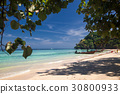 idillyic tropical hidden beach,Thailand 30800933
