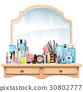 Vector Dressing Table 30802777