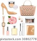 Vector Fashion Accessories Set 2 30802778