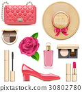 Vector Fashion Accessories Set 4 30802780
