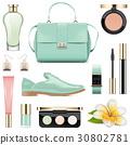 Vector Fashion Accessories Set 5 30802781