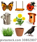 Vector Spring Season Icons 30802807