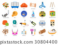 Pet rodents appliance icon set flat  30804400