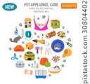 pet rodent icon 30804402