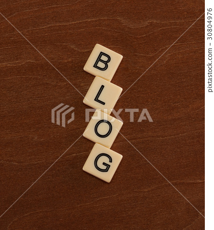 Personal Blog Headline. Social networking concept. 30804976