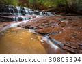 級聯 河 岩石 30805394