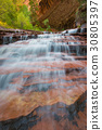 級聯 河 岩石 30805397