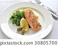 salmon, gril, grill 30805700