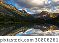 Swiftcurrent Lake and Reflection 30806261