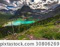 Grinnell Lake from overlook, Glacier National Park 30806269