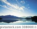Scenery of Sun Moon Lake in Taiwan, Asia. 30806811