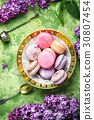 Sweet french macaroons 30807454