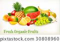 香蕉 水果 橙色 30808960