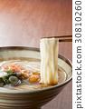 inaniwa udon, hashi age, nameko 30810260
