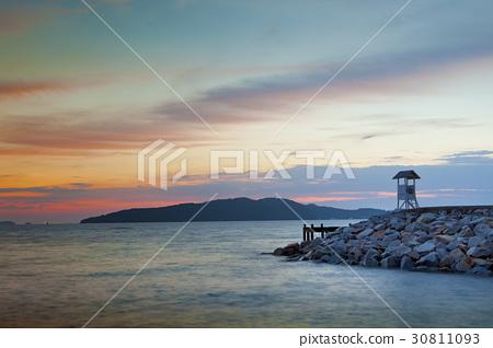 sun rising  khao laem ya national park thailand 30811093