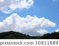 blue, sky, cloud 30811689