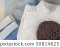 Collection of men's warm autumn clothes. 30814625