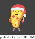 披薩 吉祥物 人偶 30816369