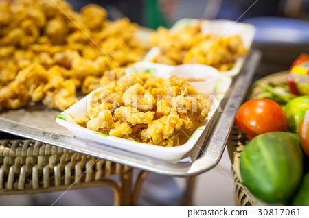 squid fried 30817061