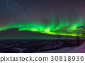 aurora, beautiful, light 30818936
