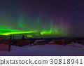 Aurora, incredible nature light in the Alaska 30818941