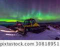 Aurora, incredible nature light in the Alaska 30818951
