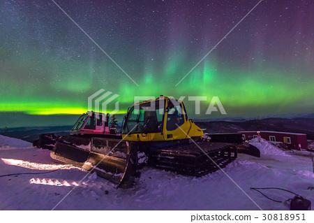 Aurora, incredible nature light in the Alaska 30818951