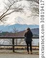 Mt.Fuji from Kawaguchiko Lake 30819417