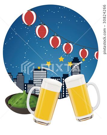 beer garden, beer, lager 30824266