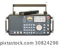 modern digital radio, 3D rendering 30824296