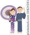 yukata, style, japanese 30824391