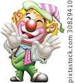 精力充沛的小丑 30829410