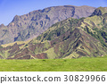 mountain, mount aso, landslide 30829966