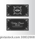 vintage, flyer, template 30832668