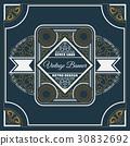 vintage, flyer, template 30832692