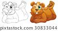 动物 涂鸦 抠图 30833044