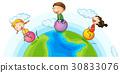 地球 土 玩耍 30833076