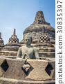 Buddha in Borobudur Indonesia 30835397