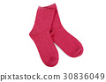 Women's socks isolated on white background 30836049