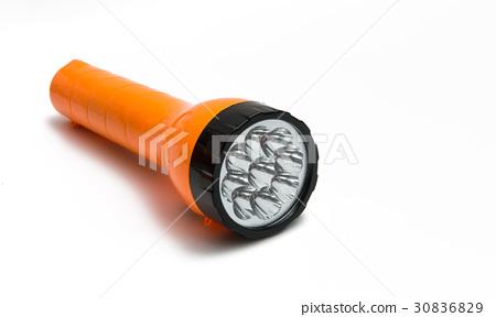 Flashlight isolated 30836829