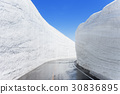 【도야마 현] 눈의 오오타니 워크 다테야마 쿠 로베 알펜 루트 30836895