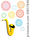Summer concert saxophone 30837846