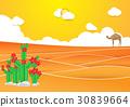 desert landscape vector 30839664
