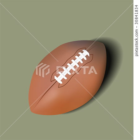 Rugby Ball. Vector illustration 30841834