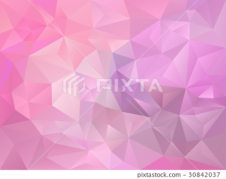 vector polygon background pink color 30842037