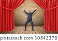 stage curtain man 30842379