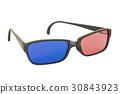 3D glasses, 3D rendering 30843923